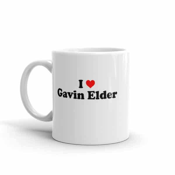 I Heart Gavin Elder Mug Mock-Up